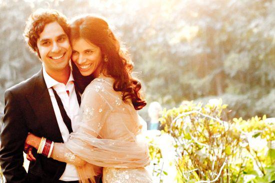 Kunal Nayyar from Big Bang Theory wed in fall 2011 to Neha in New Delhi
