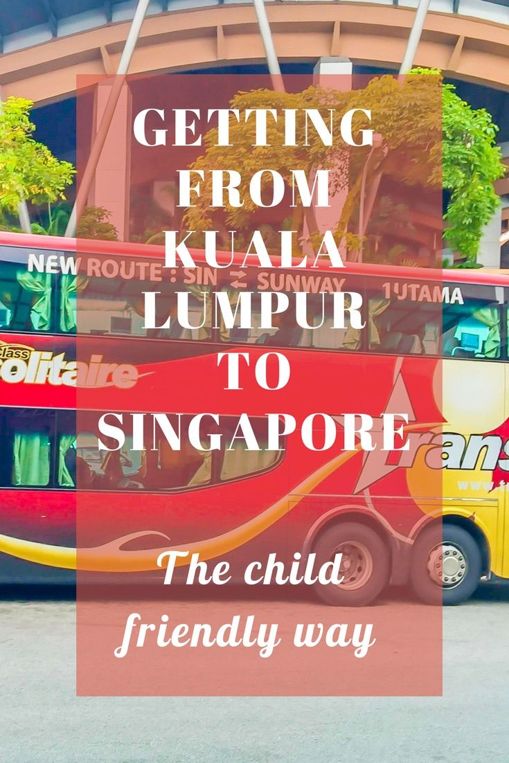 Singapore and Kuala Lumpur are both outstanding tourist destinations. We look at the different options for travelling between the two and give you our best choice.