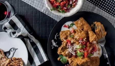These tasty carb-free rotis are adapted from Jono Proudfoot'�s recipe in The Real Food Revolution.