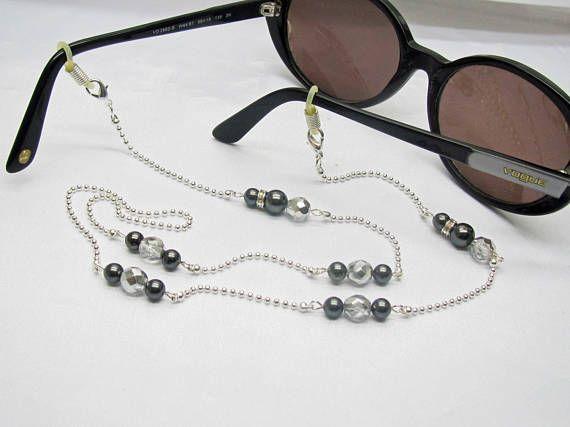 Handmade cord glasses fancy glasses chain for women, gift for her ...