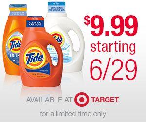 Tide® Detergents Sale at Target ~ Lowest Price since 2008! - The Frugal Find