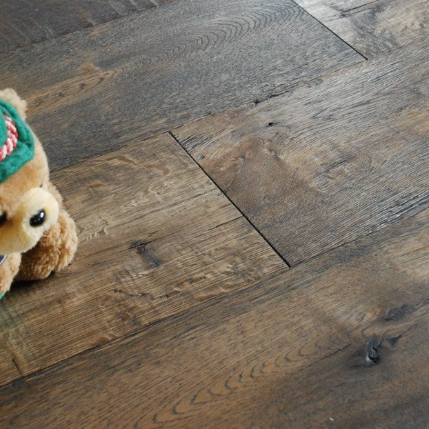 Distressed Oak Floors Perhaps I Can Find This In The