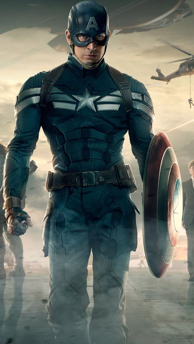 Captain america the winter soldier iPhone Wallpapers