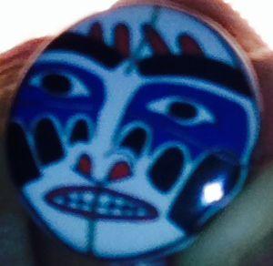 Mask pin...