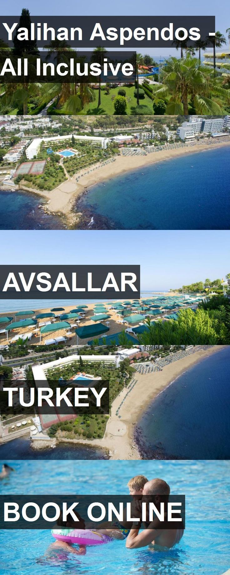 Hotel Yalihan Aspendos - All Inclusive in Avsallar, Turkey. For more information, photos, reviews and best prices please follow the link. #Turkey #Avsallar #travel #vacation #hotel