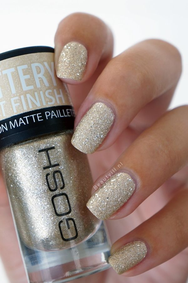 Gosh nagellak herfst/winter collectie '13/'14 | Liquid Sand?! - Beautyill