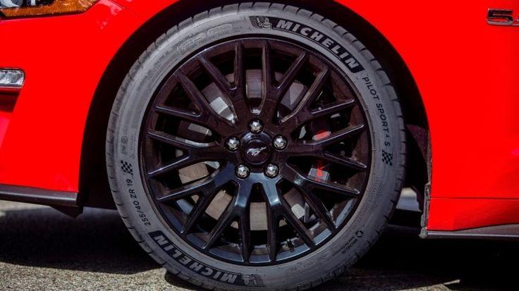 2018 Ford Mustang GT - Michelin Pilot Sport 4S high-performance summer tire
