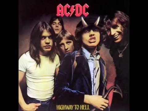 Oh, man. ACDC, my first band. The reason I chose this album is because we actually own it on vinyl. But, I can say this was my first band and I still enjoy it a lot.