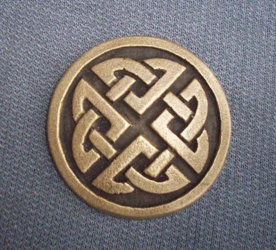 Celtic / Pictish brooch by GelertDesign on Etsy, £7.29