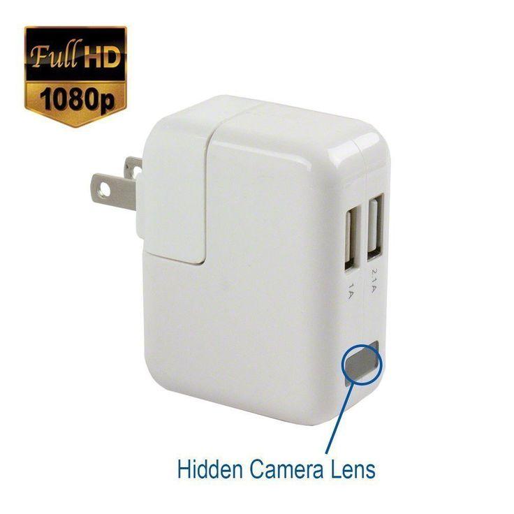 USB Wall Charger Mini HD Hidden Camera