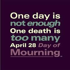 Image result for Day of Mourning • April 28, 2015