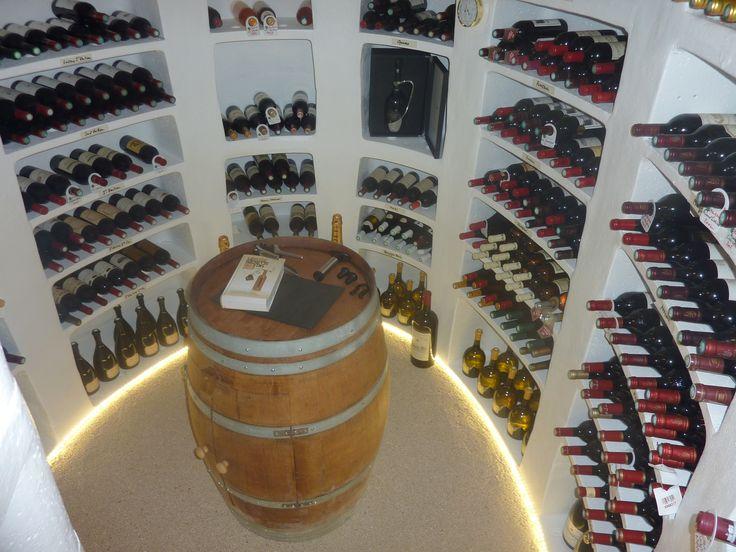 Piwnica pasywna na wino- seria Ovale