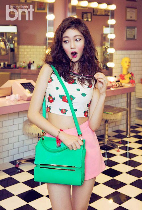 Korean Actress Gong Seung Yeon BNT International Magazine July 2015 BTS