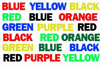 Can you do it...say the colours not the word