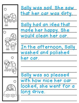Story Sequencing Activities For Writing Sort And Write Kindergarten Worksheets Story Sequencing Sequencing Activities