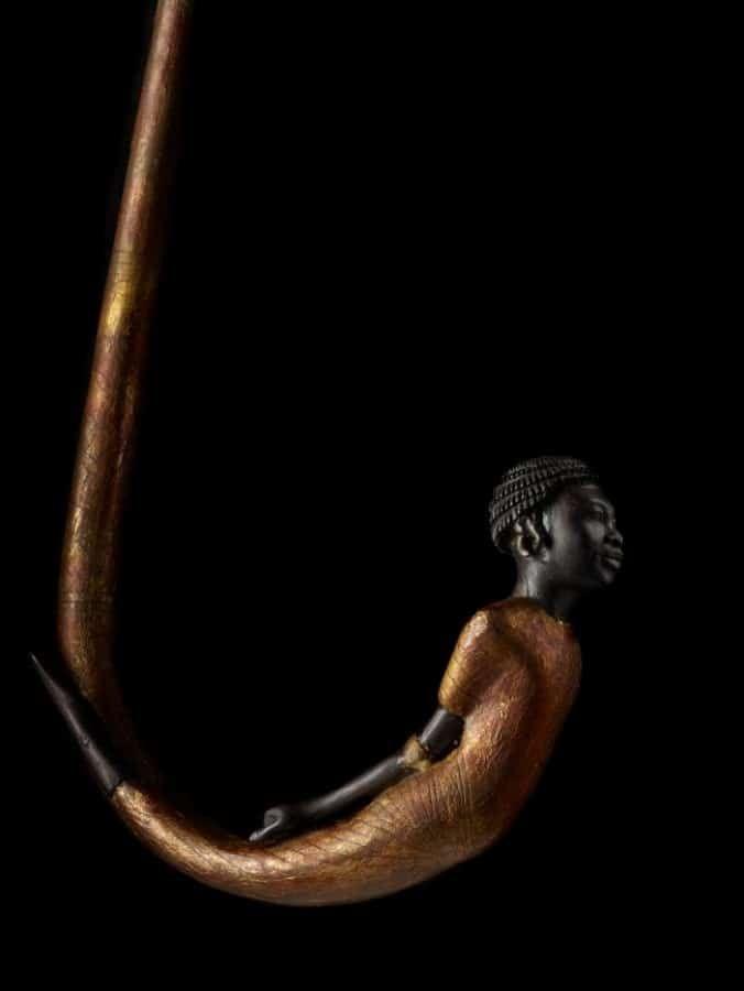Une canne de marche découverte dans la tombe de Toutankhamon