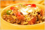 """BEEF AND BEAN CHILE VERDE: ~ From: """"Peri & Sons Farms.Com."""" ~ A..."""