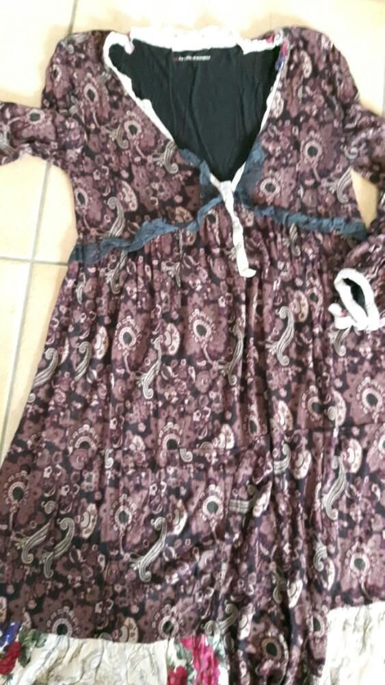 ≥ Odd Molly katoenen jurk mt 2 ZGAN donker rood - Merkkleding | Jurken - Marktplaats.nl