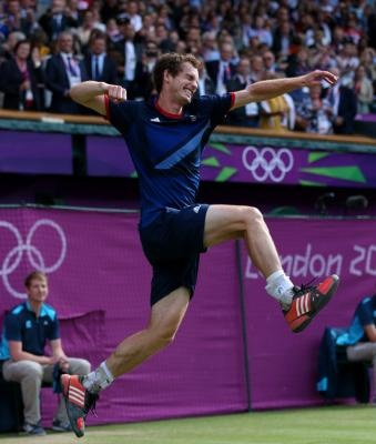 Tennis: Andy Murray GOLD