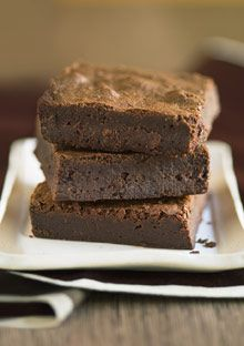 Brownies with....wait for it....carrot puree and spinach puree.  Recipe by Jessica Seinfeld.