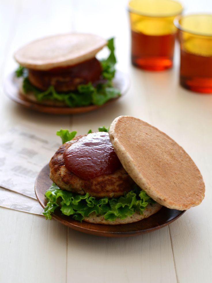 おからハンバーグライ麦パンケーキサンド by 西山京子/ちょりママ | レシピサイト「Nadia | ナディア」プロの料理を無料で検索