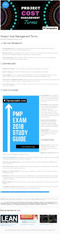 PMP Certification: Project Cost Management Terms (based on PMBOK® Guide, 6th Edition) → Read more on Tipsographic.com [project management,  agile  2018, pmp certification 2018, pmp exam 2018, pmp 2018, pmbok, pmbok 2018, pmbok 6, pmbok 6th edition, pmbok sixth edition #projectmanagement #agile #agile2018 #pmp #pmexam #freeguide #freecourse #freetraining #pmp2018 #pmbok #pmbok2018 #pmbok6 #pmbok6th #pmpexam2018 #pmpcertification2018 #onlinecourse #onlinetraining ]