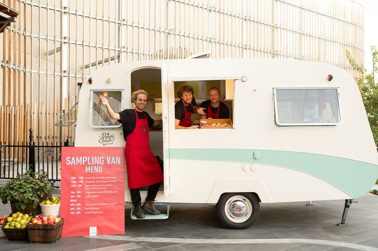 Highpoint's beloved food sampling van at Shopping Day