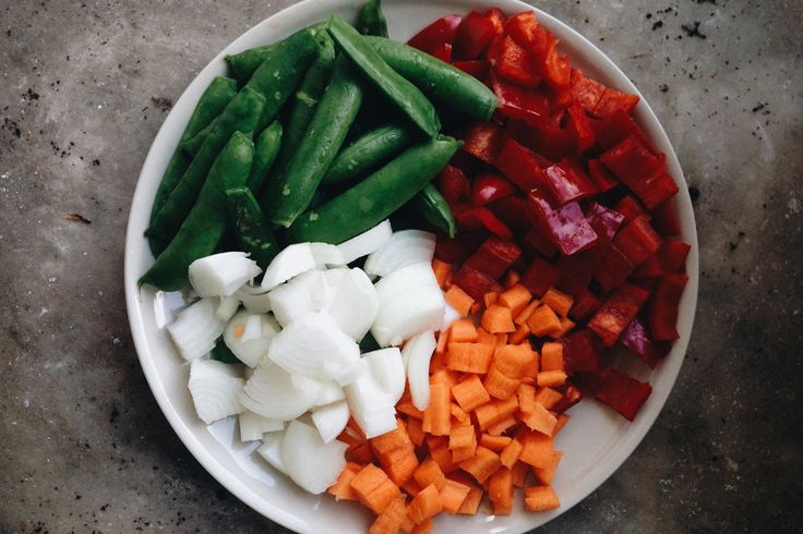 Vegetables for sour chicken soup