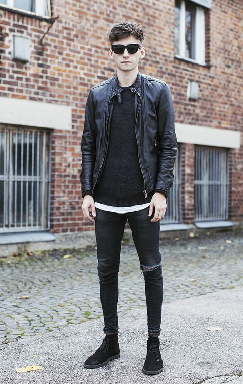 25+ best ideas about Rock style men on Pinterest | Man style Mens greaser hair and Greaser fashion