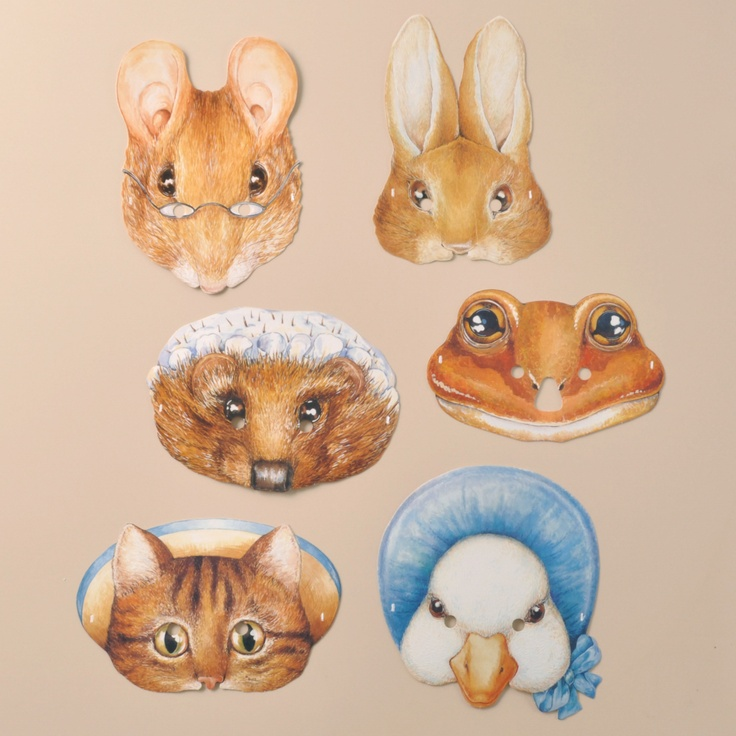 beatrix potter masks masks are always hugely popular i can draw some potter