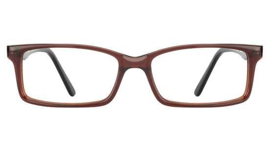 Vincent Chase Vagabond VC 6945/N Brown Red Black C2 Eyeglasses