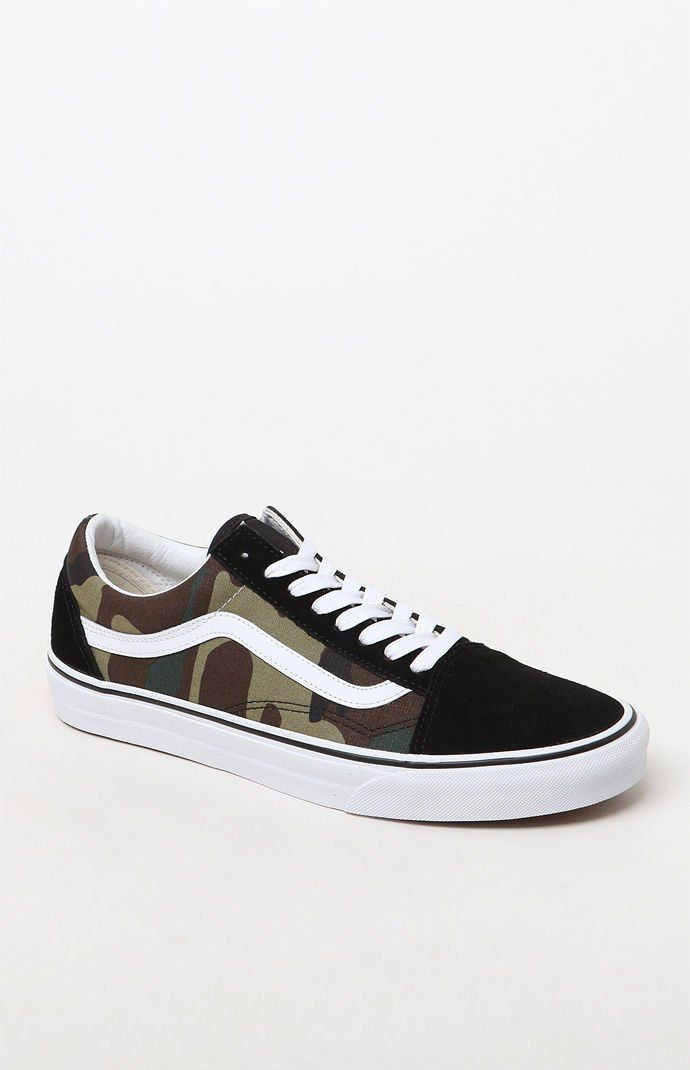 Vans Woodland Camo Old Skool Shoes