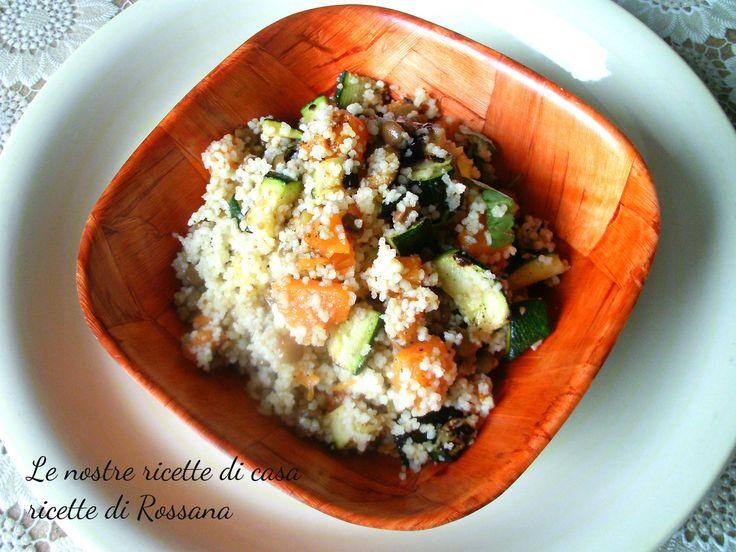 Cous cous con verdure grigliate in padella, ricetta primi piatti