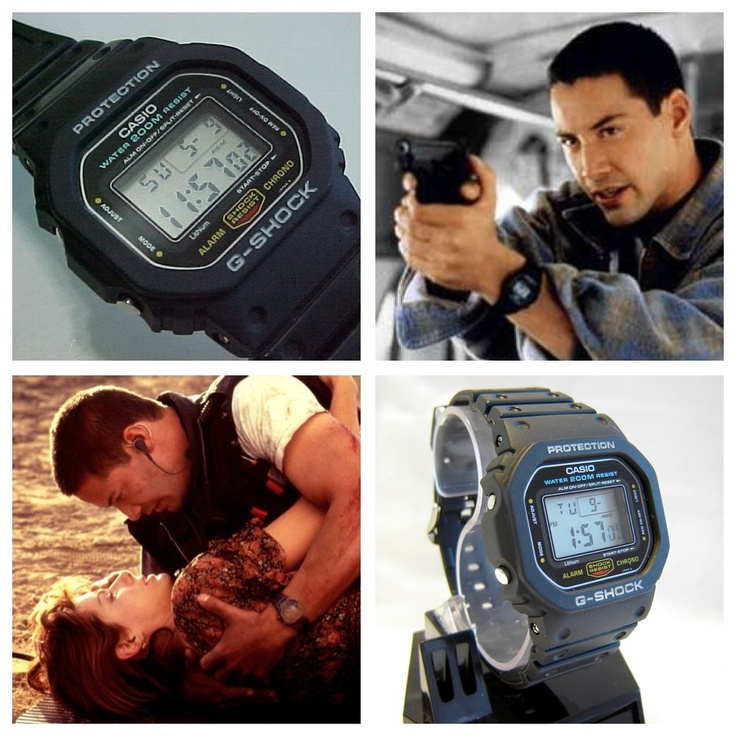 a classic dw5600c1v aka speed gshock worn by keanu