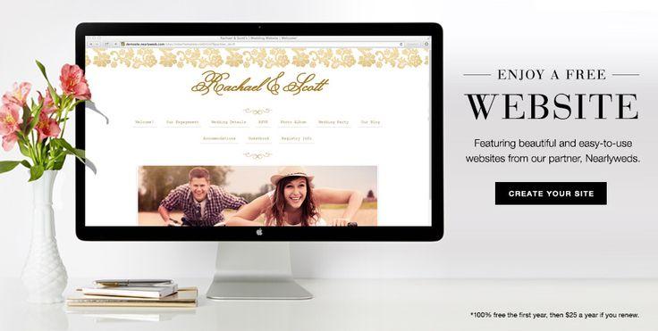 www.weddingpaperdivas.com personal wedding websites