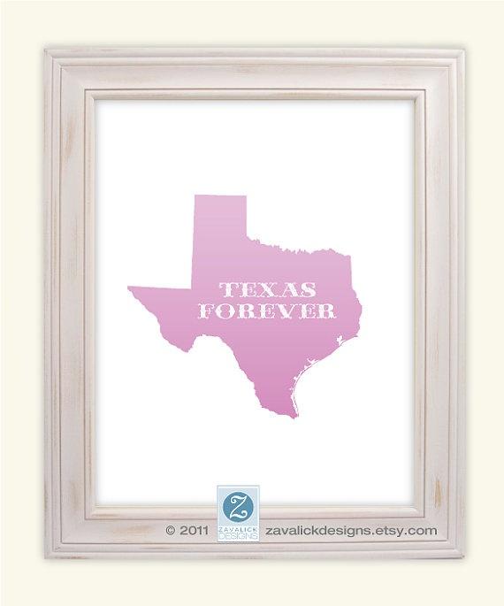 TXForever 14 50, Forever 8X10, Tim Riggins, Friday Night Lights, Texas States, Texas Till, 8X10 Prints, Custom Colors, Texas Forever