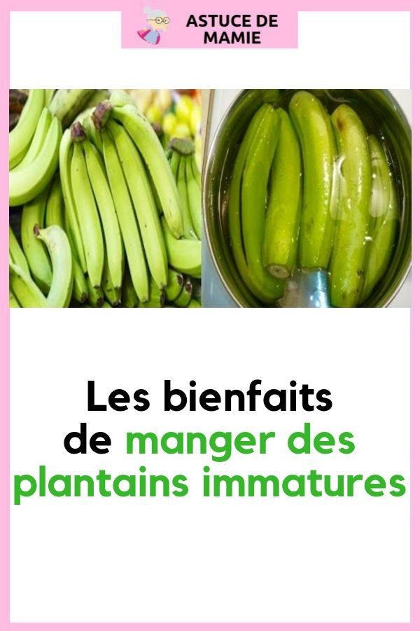 les bienfaits de manger des plantains immatures banane. Black Bedroom Furniture Sets. Home Design Ideas