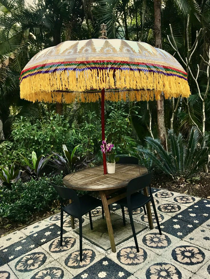 We saved you a seat in our gardens at ikatan Spa Noosa