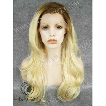 N27-T613/27  Wavy Blonde Long Wig With Dark Roots. Highlighted Blonde Wig  #rupauldragrace   #soyouthinkyoucandrag   #rupaul   #rpdr   #beautysalon   #hairsupply   #hairstyle   #hairsalon   #hair   #dragqueen   #dragrace   #dragwig   #drag   #gaywig   #lacefrontwig   #lacefront   #lacewig   #lacewigs   #wigstore   #crazywig   #wig   #wigs   #findwig   #onlinewigstore   #kanekalon   #skintop   #skintopwig   #skintopwigs   #lacefrontwigs   #dragshow  ‬‬