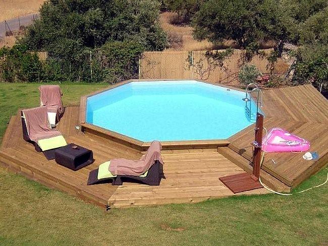 Oltre 25 fantastiche idee su piscine fuori terra su for Piscine in terra