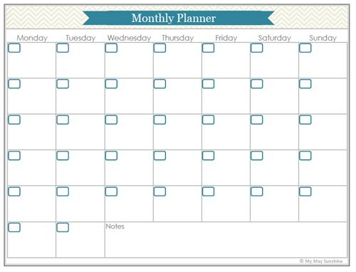 126 Best Planners & Printables Images On Pinterest | Planner Ideas