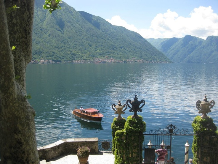 Feel like an aristocrat while discovering Lake Como on our period Water Limo RUY at Grand Hotel Tremezzo