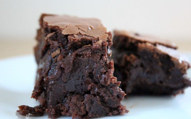 Healthy Gooey Chocolate Brownies