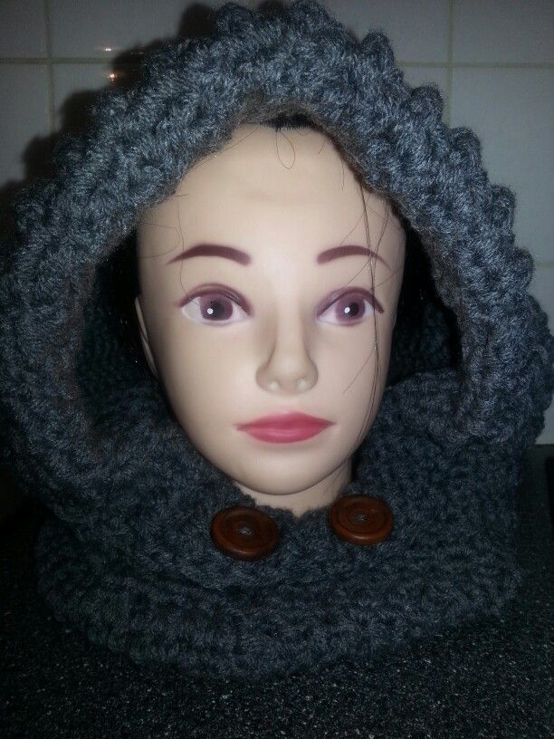 Adults hooded cowl