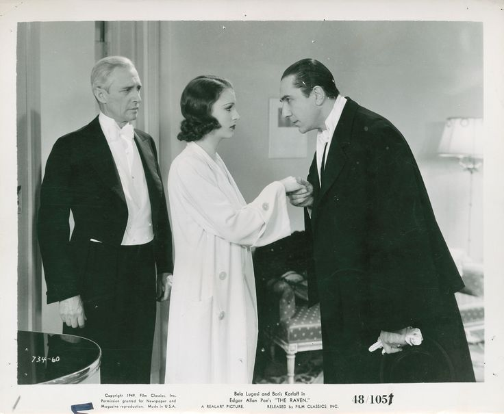 Samuel S. Hinds, Irene Ware and Bela Lugosi in The Raven directed by Lew landers, 1935