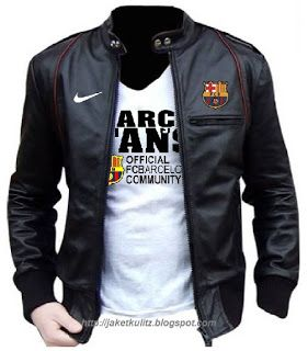Jual jaket kulit barcelona free ongkir 081703402482 (wa/line/hp) http://jaketkulitz.blogspot.co.id/2017/04/jaket-kulit-barcelona-barca.html