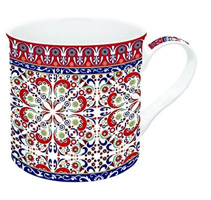 JD Diffusion 177MORE Art Around the World Coffret de Mug Multicolore