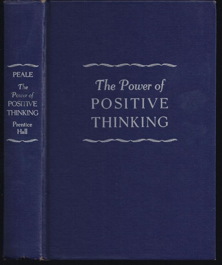 The Power Of Positive Thinking Quotes Norman Vincent Peale: The Power Of Positive Thinking (1952) By Norman Vincent