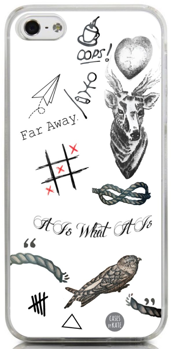 Another great tattoo case- this time for Louis Tomlinson. We have so much designing our tattoo cases and this one is definitely one of our favorites. If you're a 1D fan, be sure to shop our Louis's Ta