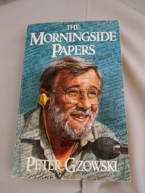 1985 First Edition Softcover Signed Peter Gzowksi Morningside  Canada CBC